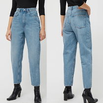"""WEEKDAY"" Meg High Mom Jeans AirBlue"