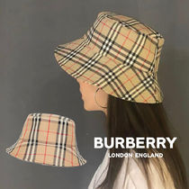 BURBERRY*20SS*ヴィンテージチェック コットン バケットハット