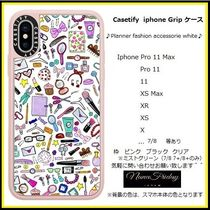 Casetify iphone Gripケース♪Planner fashion accessorie...♪