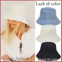 Lack of color★Wave Bucket★バケットハット3色