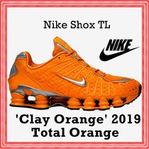 Nike Shox TL Total Orange 'Clay Orange' SS 19 2019