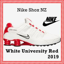 Nike Shox NZ White University Red 2019 SS 19