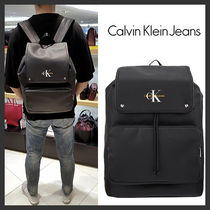海外別注★Calvin Klein★Coated Cotton backpack★受取安全発送