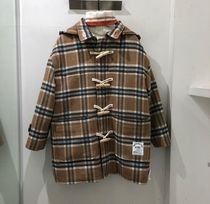 最安値挑戦/新品買付◆19FW◆5252 by OiOi◆CHECK DUFFLE COAT