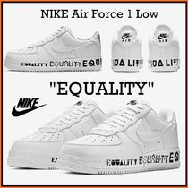 """US 7.0-9.5 Nike Air Force 1 Low """"Equality"""" エアフォース1"""