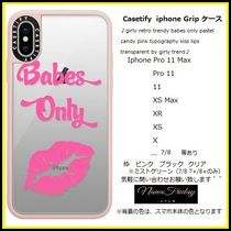 Casetify iphone Gripケース♪girly retro trendy babes ...♪