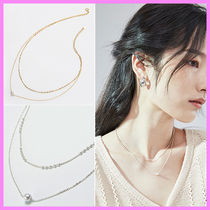 【Hei】dot chain two layered necklace〜2連チェーンネックレス