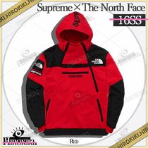 16SS /Supreme The North Face Steep Tech Hooded Sweatshirt 赤