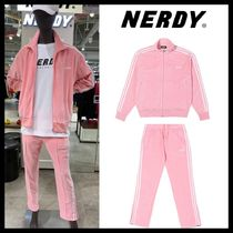 【NERDY】Velour Track Top & Pants/セット/Pink/19FW/ピンク