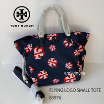 TORY BURCH★FLYING LOGO SMALL TOTE 63976