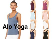 【Alo yoga】国内発送 タンク support with removable cups