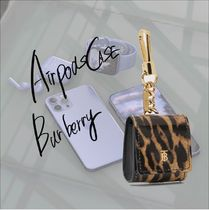 [Burberry]AirPodsケース レオパード