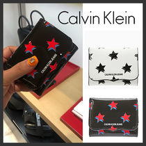 海外別注★Calvin Klein★Sculpted Leather Wallet★安全発送