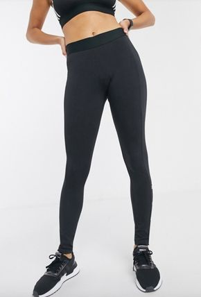 adidas ボトムスその他 送関込◆【adidas】leggings with side logo in black(4)