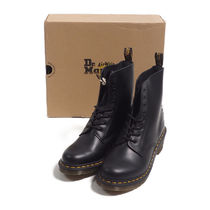 DR.MARTENS::CLEMENCY 8 EYE レースアップブーツ:UK9[RESALE]