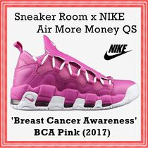 Sneaker Room x Air More Money QS 'Breast Cancer Awareness'