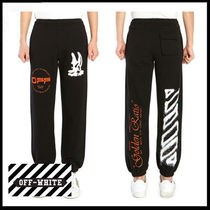 (オフホワイト) OFF-WHITE SWEATPANTS OMCH022R20E30009