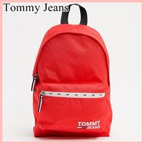 Tommy Jeans シティロゴバックパック red 送料込み
