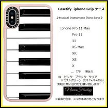 Casetify iphone Gripケース♪Musical Instrument Piano keys♪