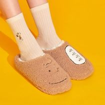 【SHOOPEN】 Snoopy Charlie room shoes AFDR19T11