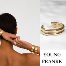 LA発!VARRO CUFF【young frankk】Gold plated brass