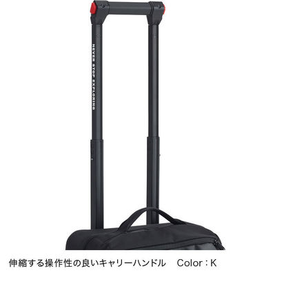 THE NORTH FACE スーツケース 【THE NORTH FACE】ローリングサンダー22インチ スーツケース 黒(2)