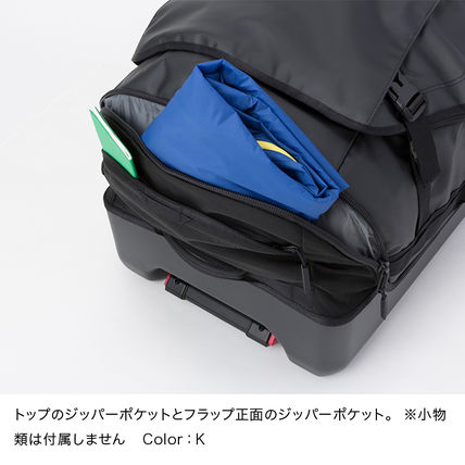 THE NORTH FACE スーツケース 国内発【THE NORTH FACE】ローリングサンダー スーツケース 黒(6)