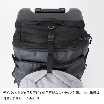THE NORTH FACE スーツケース 国内発【THE NORTH FACE】ローリングサンダー スーツケース 黒(7)
