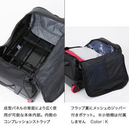 THE NORTH FACE スーツケース 国内発【THE NORTH FACE】ローリングサンダー スーツケース 黒(10)
