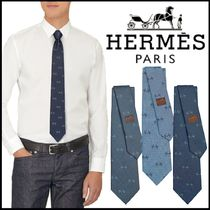 【HERMES】ギフトにも最適 H'Cheval tie
