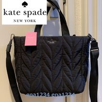kate spade 可愛い 2way キルト ナイロン ellie small tote