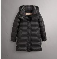 【BURBERRY】Detachable hooded down-filled puffer coat
