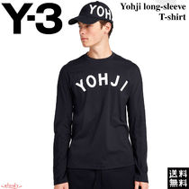 Y-3(ワイスリー)Adidas☆Yohji long-sleeve T-shirt 長袖Tシャツ