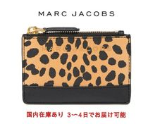 MARC JACOBS☆BRANDED SAFFIANO LEATHER MINI WALLET☆ミニ財布