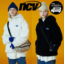 ncover Original small logo fleece anorak MH837 追跡付