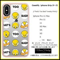 Casetify iphone Gripケース♪That's Too Bad Tweety Print♪