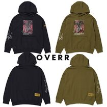 ★OVERR★NONE.1 SEAM POINT HOODIE 2色