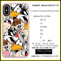 Casetify iphone Gripケース♪Looney Tunes Party All Over...♪