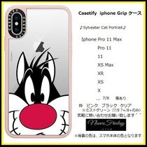 Casetify iphone Gripケース♪Sylvester Cat Portrait♪