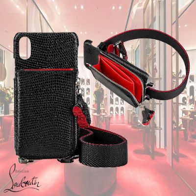 Christian Louboutin スマホケース・テックアクセサリー 19W 新作 Christian Louboutin Loubicharm Iphone X / XS