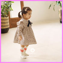 【ArimCloset】violet flower lovely collar baby dress