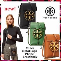 新作 セール Tory Burch Miller Metal Logo Phone Crossbody