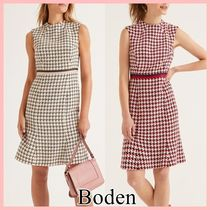 Boden ツイードワンピース green&pink navy&red 送料込み
