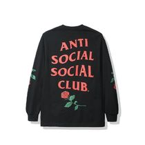 限定 完売品 ANTI SOCIAL CLUB VIOLETS ARE BLUE ロンT - BLACK