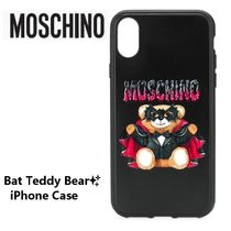 Moschinoモスキーノ★ Bat Teddy Bear iPhoneケース