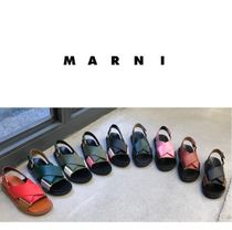 MARNI直営店◆Sandals with crossed bands◆レディーズサンダル