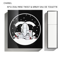 NOEL限定★CHANEL★N°5 ロー MINI TWIST & SPRAY EDT