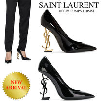 《新作》SAINT LAURENT OPIUM PUMPS 110 PATENNT LEATHER