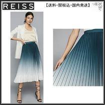 【海外限定】REISS スカート☆MILA OMBRE PLEATED MIDI SKIRT