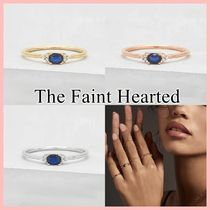 THE FAINT HEARTED 日本未入荷 Dainty Oval Ring サファイア